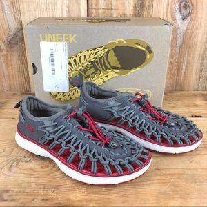 KEEN | Kid's Uneek 02 2-Cord Sneaker Sandal | 2